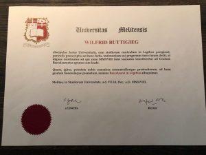 Graduation Certificate - 2018